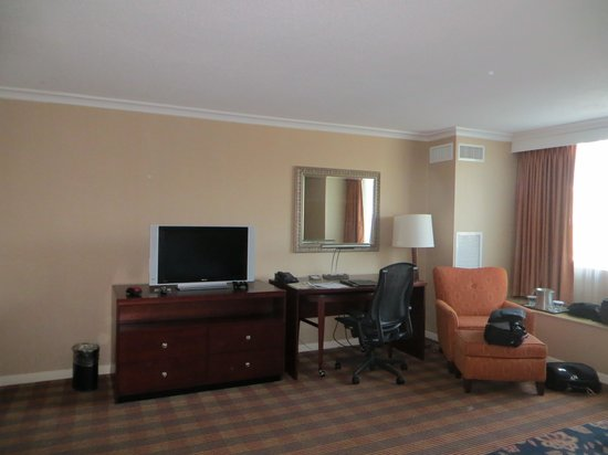 Hilton Providence : our room