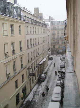 Victoria Hotel : Vistas desde la ventana