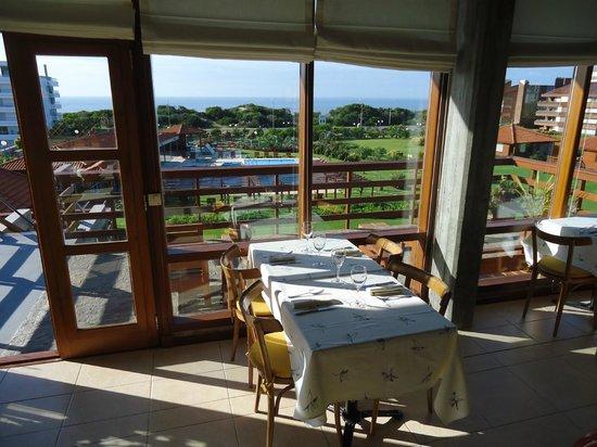 Il Belvedere: Vista do restaurante