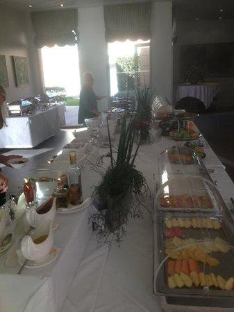 Villa Sassa Hotel, Residence & Spa: Frühstücksbuffet fürstlich