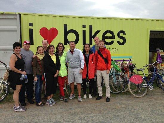 I Heart Bikes: Bike tour with Sarah