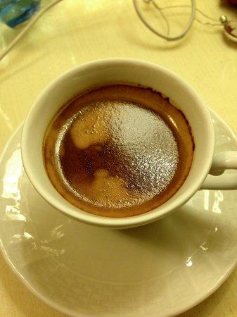 Residenza Domiziano: ahh an espresso a day...