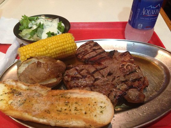 Tad's Broiled Steaks : My suprise...