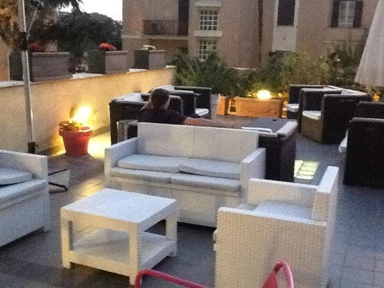 ARS Hotel: Hotel Roof Terrace