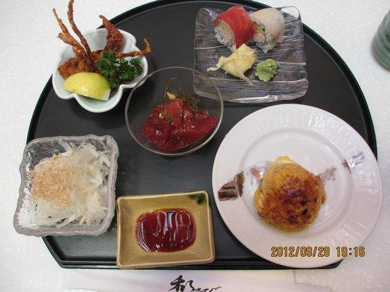 Wasabi Bistro: 料理