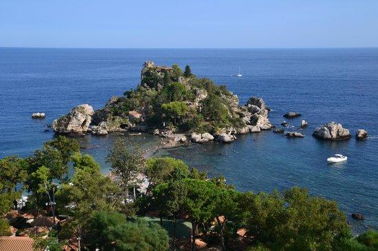 Hotel Isola Bella: vista dal letto...