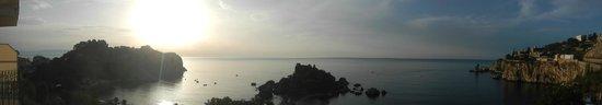 Hotel Isola Bella: alba dal balcone