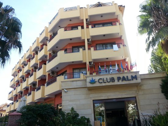 Club Palm Hotel : front of hotel