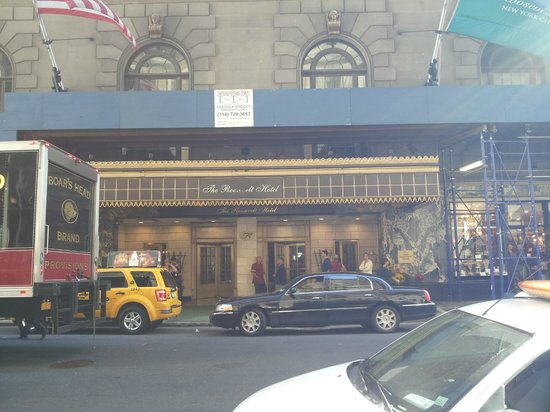The Roosevelt Hotel: outside the hotel