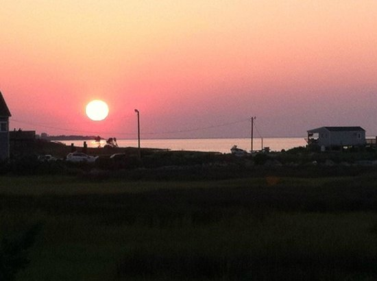 Sunset at Sandbar & Grille