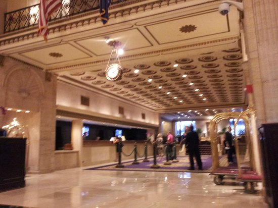 The Roosevelt Hotel: reception