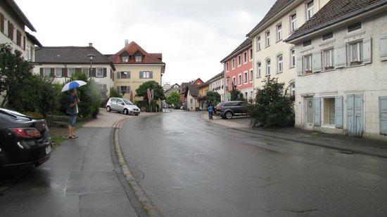 Gasthof Hirschen : gezellig dorpje