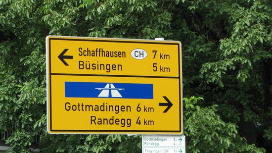 Gasthof Hirschen: dichtbij de zwitserse grens