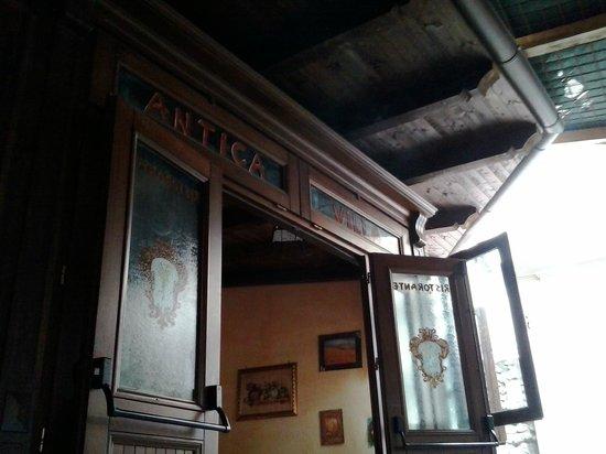 Antica Villa: l'entrata