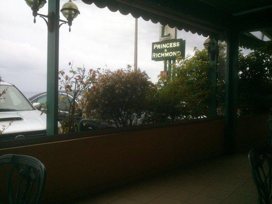 Hotel Princess & Richmond : la terrasse