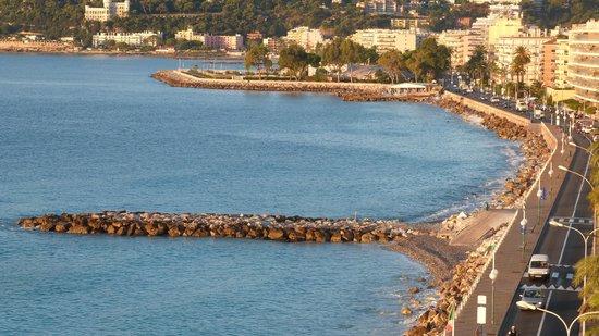 Hotel Princess & Richmond : Roquebrune/Cap Martin vu de la chambre