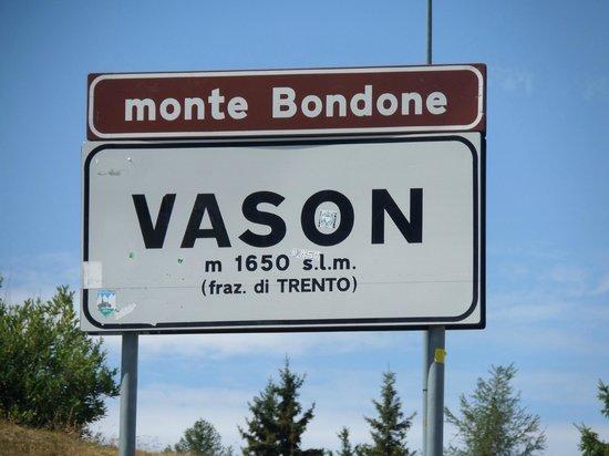 Le Blanc Hotel & Spa: Cartello indicazioni a Vason