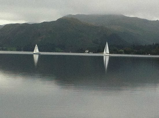 Ullswater Steamers: view from the steamer