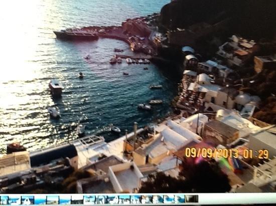 Taverna Katina: view from the steps