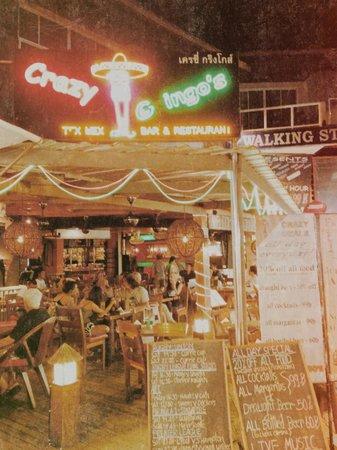 Crazy Gringos Mexican Restaurant : Crazy gringo!