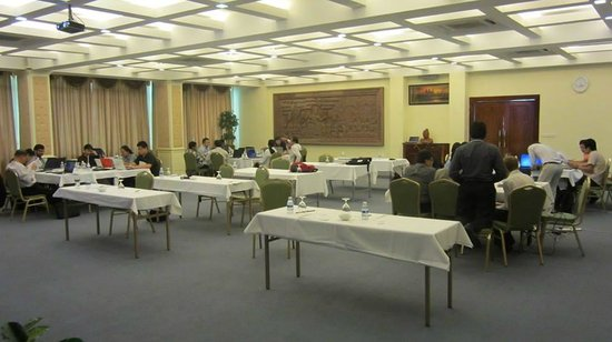 Green Palace Hotel: Meeting Room