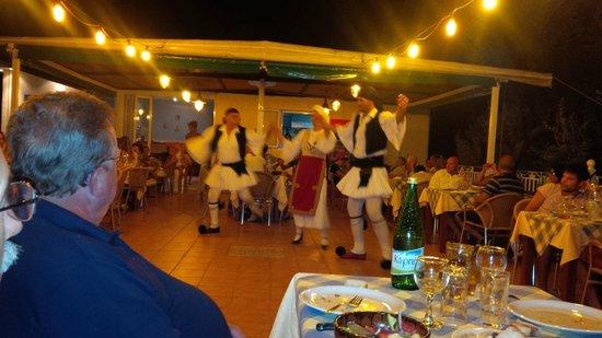 Ilios Club Hotel & Villas: cena greca