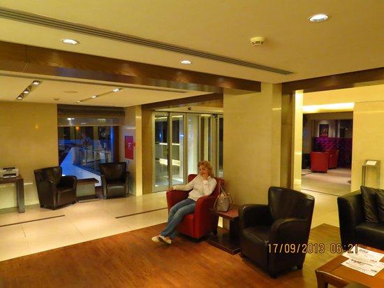 Domotel Les Lazaristes : холл в отеле