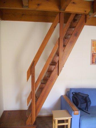 Apartamentos Maeva Hôtel La Socanelle: l'échelle de meunier