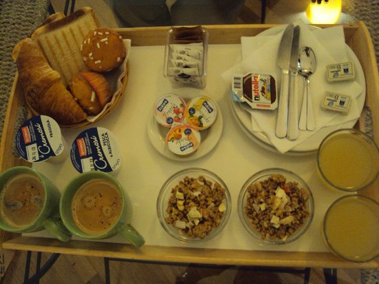 La Locandiera: Café da manhã