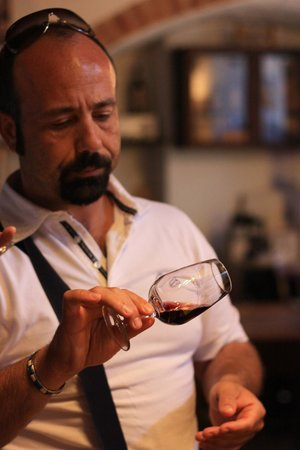 Just in Tuscany  Day Tours : Manuele the wine connoisseur