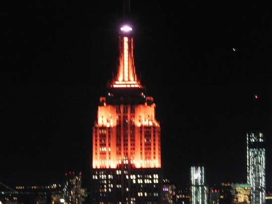 CitySights NY: empire state from the top of the rock