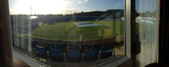 Headingley Lodge: view from your room