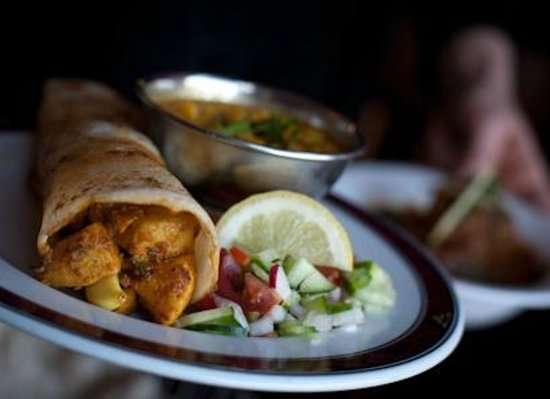 Mother India's Cafe: Chilli Chicken Dosa