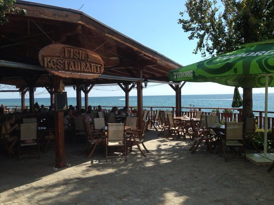 Fish Restaurant: Beautiful sea view