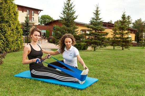 Malinowy Zdroj Hotel Medical SPA : Fizykoterapia na świeżym powietrzu