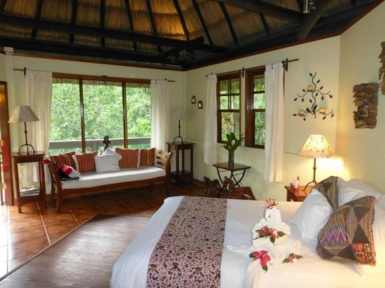 The Lodge at Chaa Creek: Schlafbereich