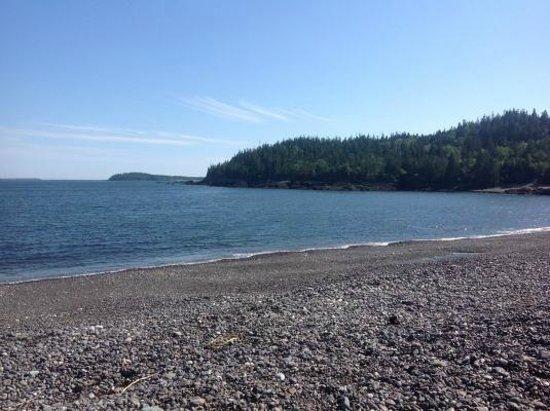 Jasper Beach : Cove