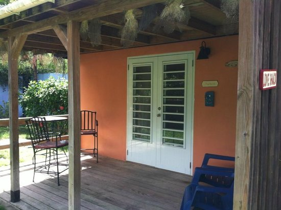 Esperanza Inn: The Casita's porch