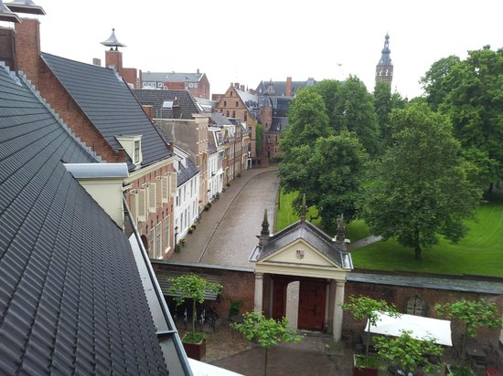 Prinsenhof Hotel: Room with a View