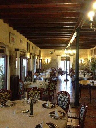 Hotel Rural & Spa Monnaber Nou: Restaurant Innenbereich