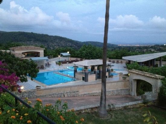 Hotel Rural & Spa Monnaber Nou: Poolbereich