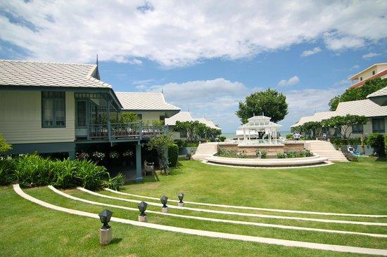Devasom Hua Hin Resort : View from Reception