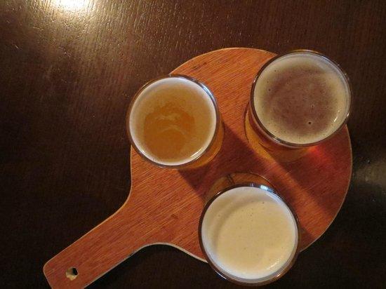The Salt House Bar: Tasting Tray