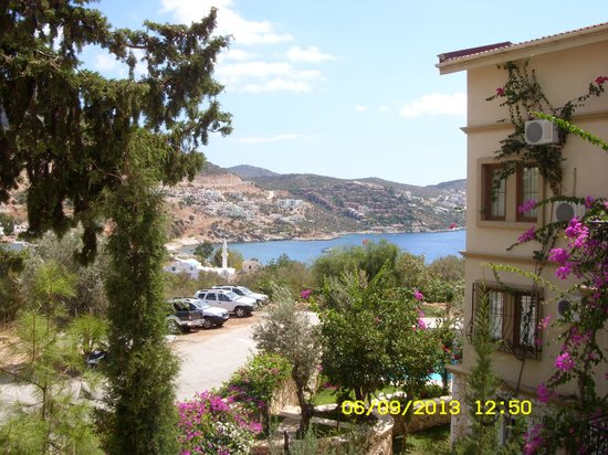 Oasis Hotel: View from the breakfast terrace