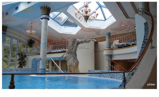 Hotel Gletscher & Spa Neuhintertux: Wellnes Bereich
