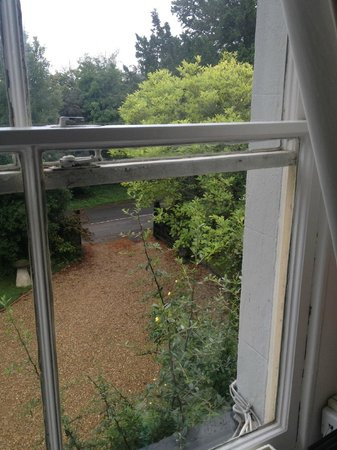 Dux Court B&B: View from our window, very beautiful