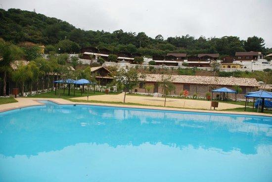 Complejo Rural Miguel Luque: Vistas desde la piscina