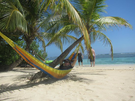 Pelican Beach - South Water Caye : Most stressful activity