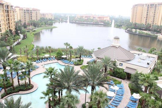 Wyndham Grand Orlando Resort Bonnet Creek: view form the room