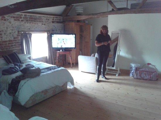 The Bull Inn: Enormous lovely room!